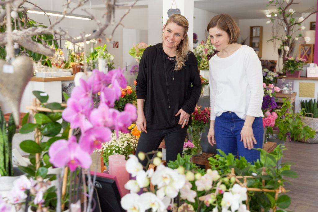 Julia Nawra und Stefanie Thierfelder